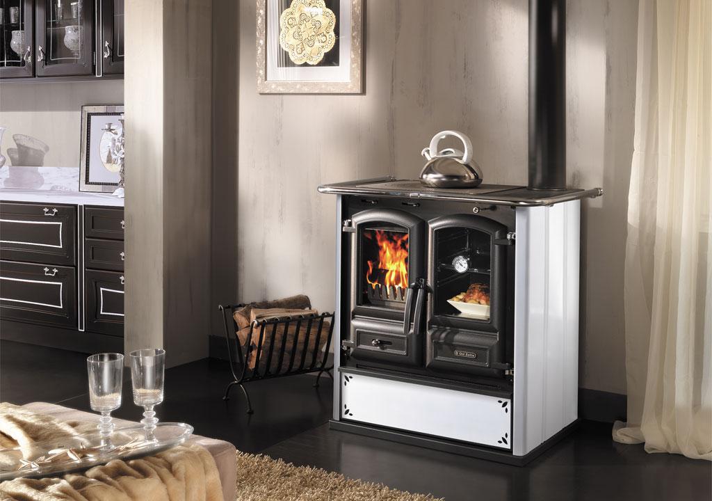 Regina 350 BII Steel - Cucine a Legna - Dal Zotto