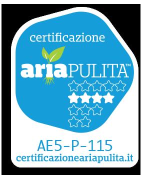 certicficato aria pulita Marta Idro 2.0