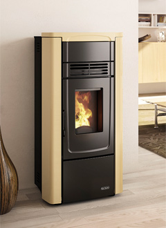 Ventilated Pellet Stoves Gabry