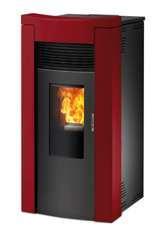 Ventilated Pellet Stoves Melania