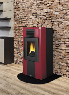 Ductable Pellet Stoves Rita Elite Evo